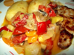 Fresh Ratatouille  Recipe