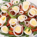 Healthy egg salad