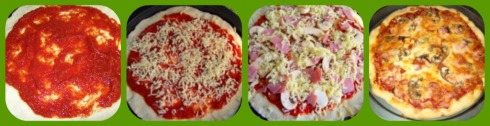 Healthy Pizza Recipes Collage
