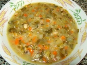 Heatlhy chicken soup recipe