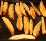 Crispy Potato Wedges