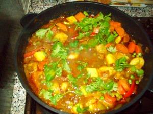 Homemade Vegatable Curry
